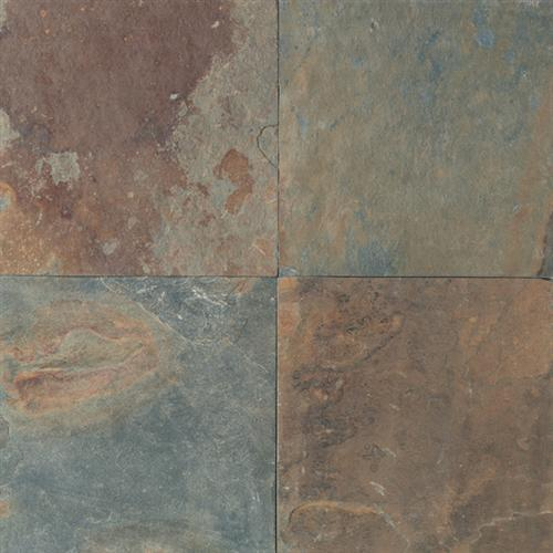 Slate And Sandstone Collection Mongolian Spring 16 X 16 And 12 X 12 Natural Cleft Gauged S781
