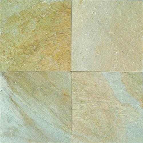 Slate And Sandstone Collection Golden Sun 16 X 16 And 12 X 12 Natural Cleft Gauged S783