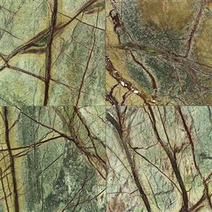 NaturalStone MarbleandOnyxCollection M54312121L RainforestGreen