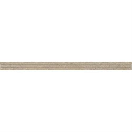 Ascend Gray Virtue Pencil Rail Honed L102