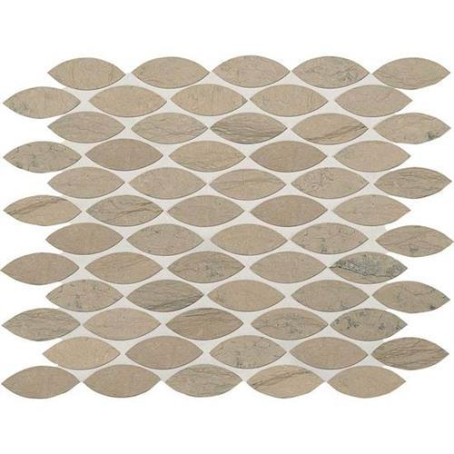 Ascend Gray Virtue Leaf Mosaic L102