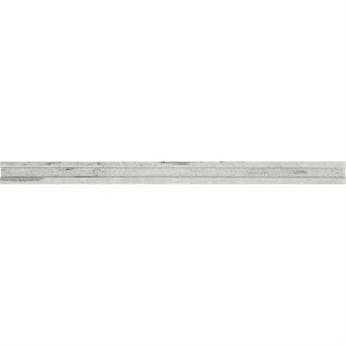 Ascend Candid Heather Pencil Rail Honed And Polished M109