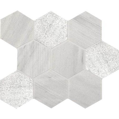 Ascend Candid Heather Hexagon Mosaic M109