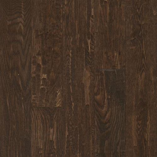 American Scrape Hardwood - Solid Brown Saddle