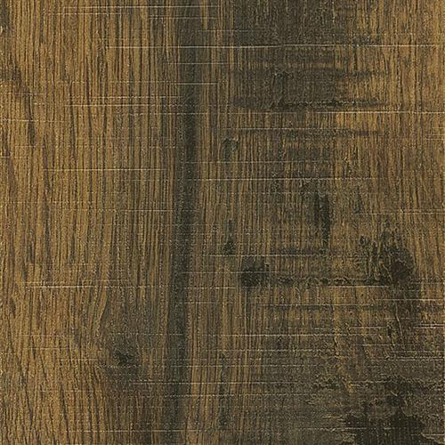 Swatch for Blackened Brown/distressed Brown flooring product
