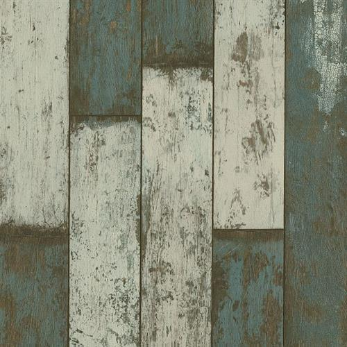 Architectural Remnants To The Sea - Sea Glass Teal