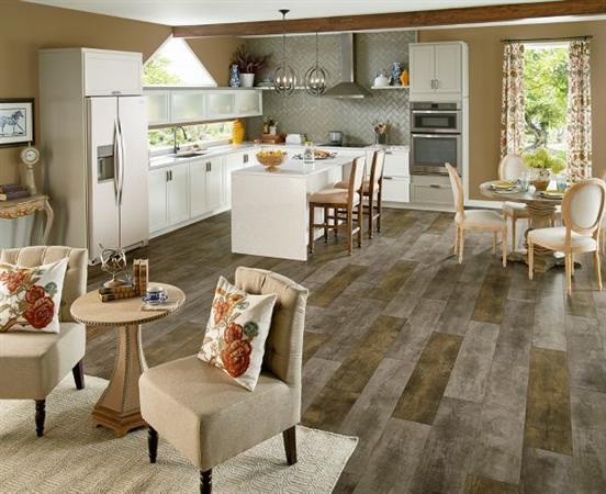 Vivero Best Glue Down Homespun Harmony - Galvanized Gray