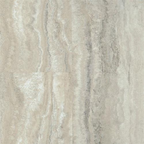 Luxe With Rigid Core in Piazza Travertine   Dovetail - Vinyl by Armstrong