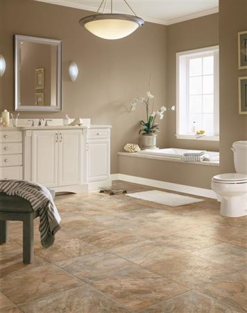 LUXE Plank Value - Tile Look Rock Hill - Honey Blush