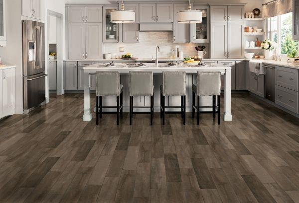 LUXE Plank With Rigid Core Sugar Grove - Smokey Taupe