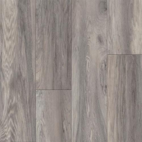 A close-up (swatch) photo of the Honeycreek Hickory   Early Morning Haze flooring product