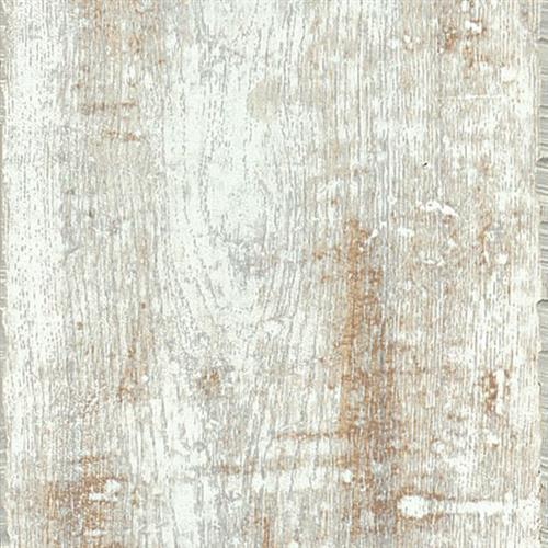 Salvaged Plank - White