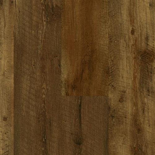 WaterproofFlooring LUXE Plank with FasTak Install Farmhouse Plank - Rugged Brown  main image