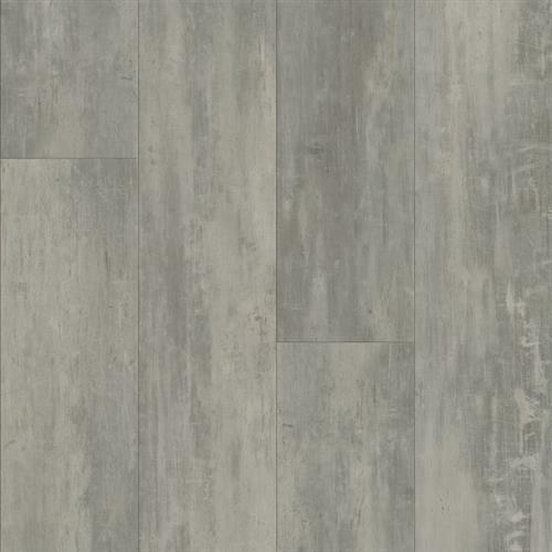 LUXE Plank With Rigid Core Concrete Structures - Soho Gray