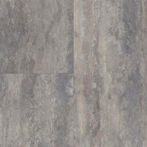 LUXE Plank With Rigid Core Travertine - Misty Day