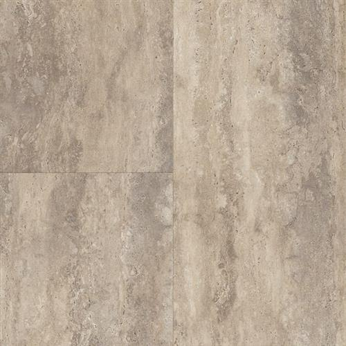 LUXE Plank With Rigid Core Travertine - Natural Linen