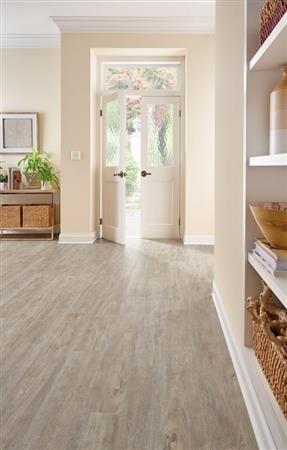 LUXE Plank With Rigid Core Keystone Oak - White Veil