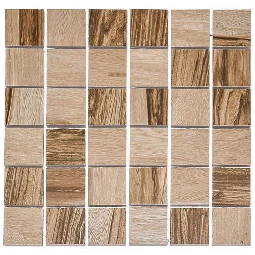 Over Walnut - 12X12 Mosaic 4676M
