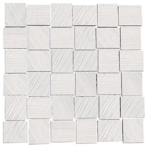 Tulip White - 12X12 Mosaic 4135