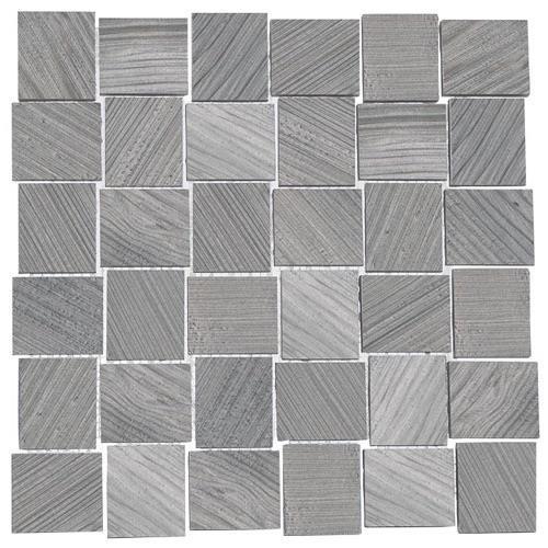 Tulip Platinum - 12X12 Mosaic 4136