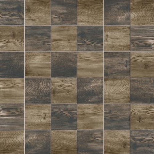 Eleganza Chocolate Cognac Mix - 12X12 Mosaic 2819U