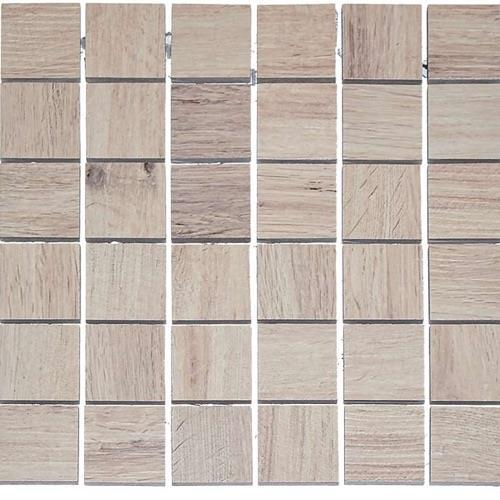 Real Wood Larice - 12X12 Mosaic 2802F