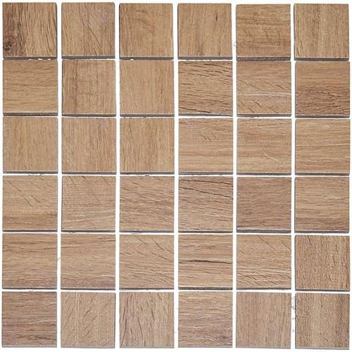 Real Wood Nocciolo - 12X12 Mosaic 2803F