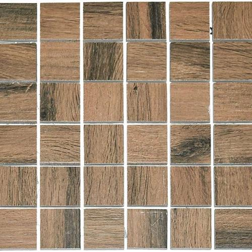 Real Wood Castagno - 12X12 Mosaic 2804F