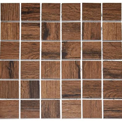 Real Wood Ciliegio - 12X12 Mosaic 2805F