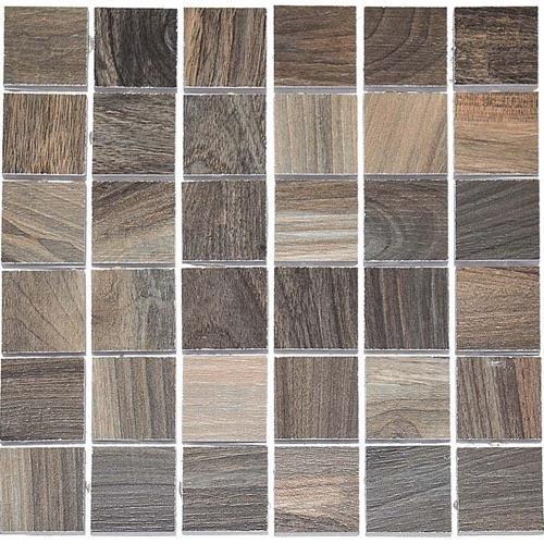 Kauri Natural Fiordland Mix - 12X12 Mosaic 4797