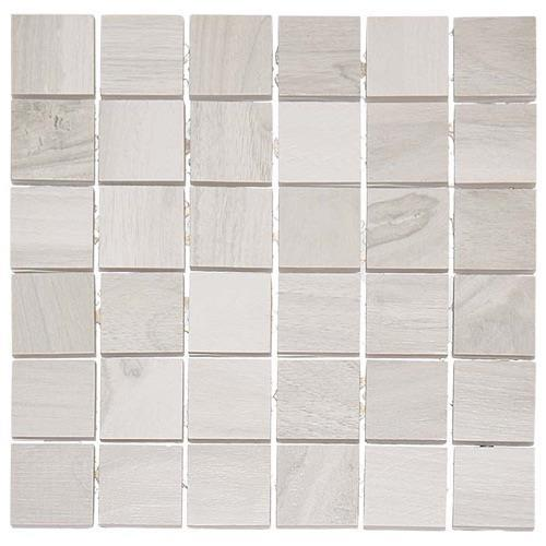 Kauri Polished Awanui Lt Grey - 12X12 Mosaic 4801