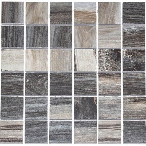 Kauri Polished Victoria Coal - 12X12 Mosaic 4806