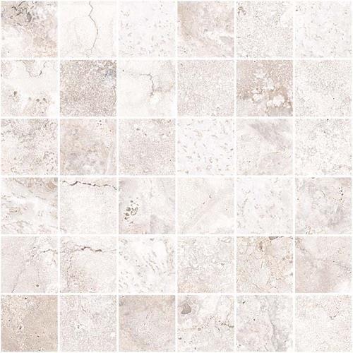 Legend White - 13X13 Mosaic 5031