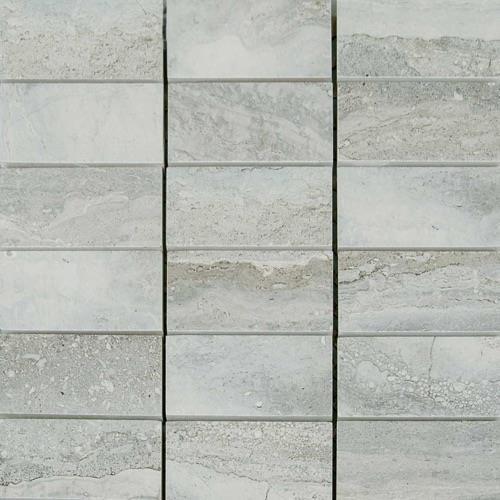Amber Silver - 12X12 Mosaic 1284