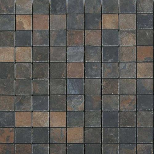 Natural Slate Multicolor - 12X12 Mosaic 4482