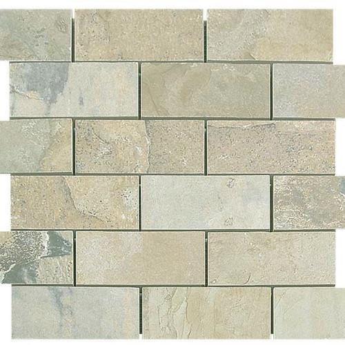 Natural Slate Autumn - 12X12 Brick Mosaic 4486