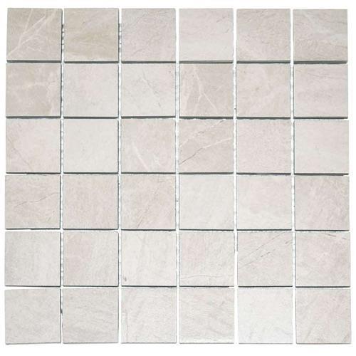 Mainstone White Bone - 12X12 Mosaic 2559