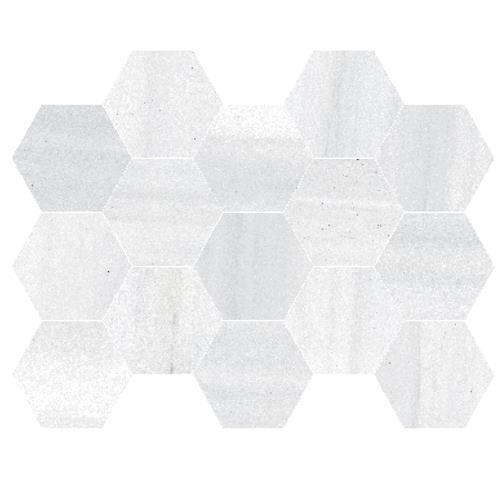 Natural - 10x14 Hexagon