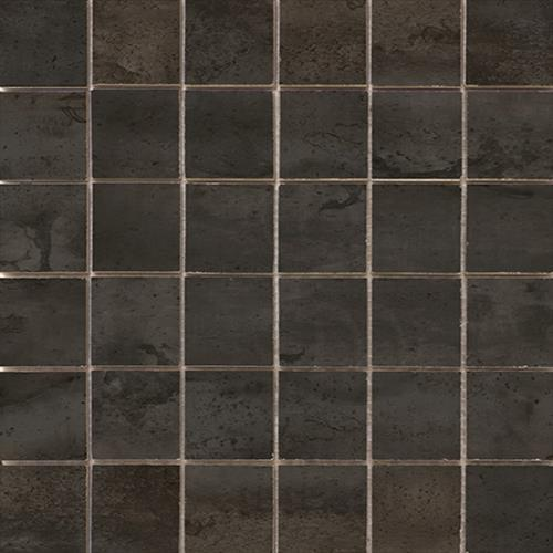 Swatch for Black   Mosaic flooring product
