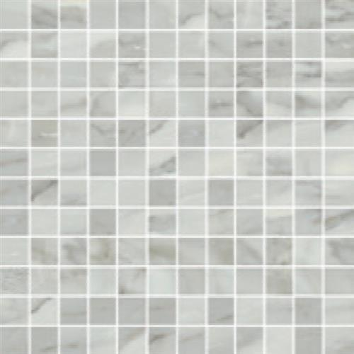 Bardiglio in Grigio Polished   Mosaic - Tile by Happy Floors
