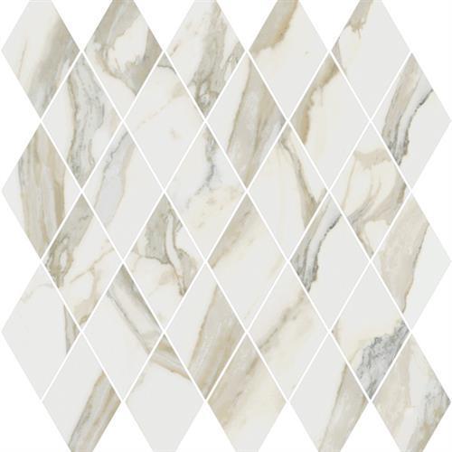Stratus Oro Natural - Rhomboid Mosaic