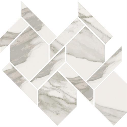 Stratus Grigio Polished - Rope Mosaic