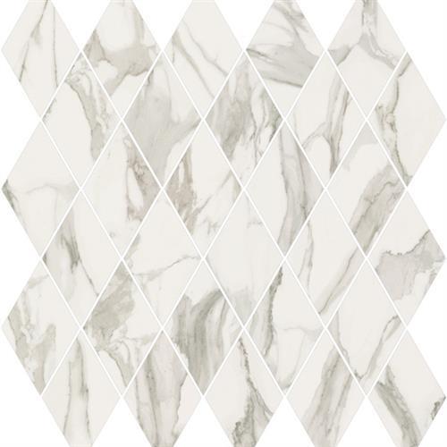 Stratus Grigio Polished - Rhomboid Mosaic