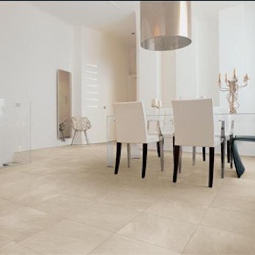 Vega in Bone - Tile by Happy Floors