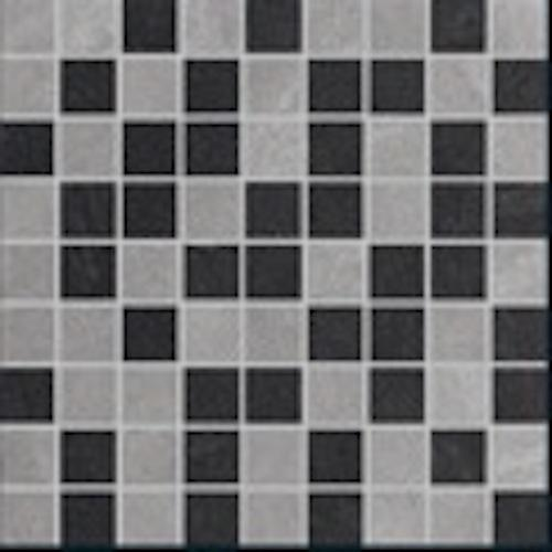 Vega in Mosaic MIX 2   Grey, Black - Tile by Happy Floors