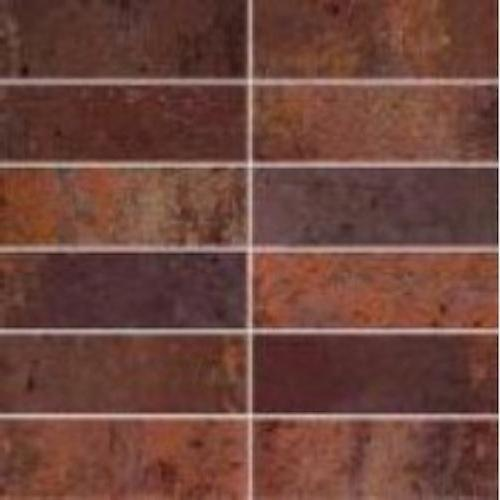 Oxido in Cobre Mosaic - Tile by Happy Floors