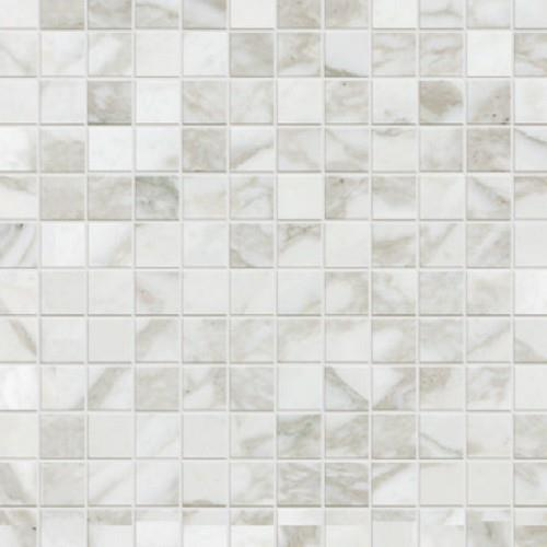 Calacatta in Mosaic Natural - Tile by Happy Floors