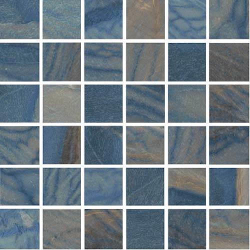 Macaubas Azul Polished Mosaic