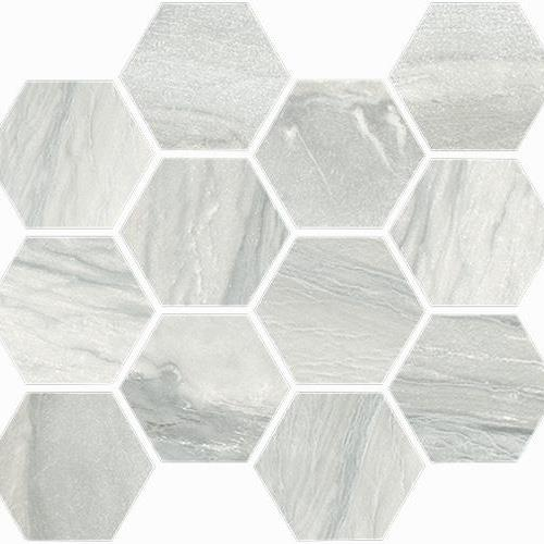Macaubas Pearl Polished Hexagon