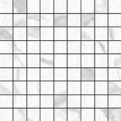 Blast Statuario - Mosaic 1X1